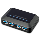 SuperSpeed USB 3.0 4-Port Hub (HU3140)
